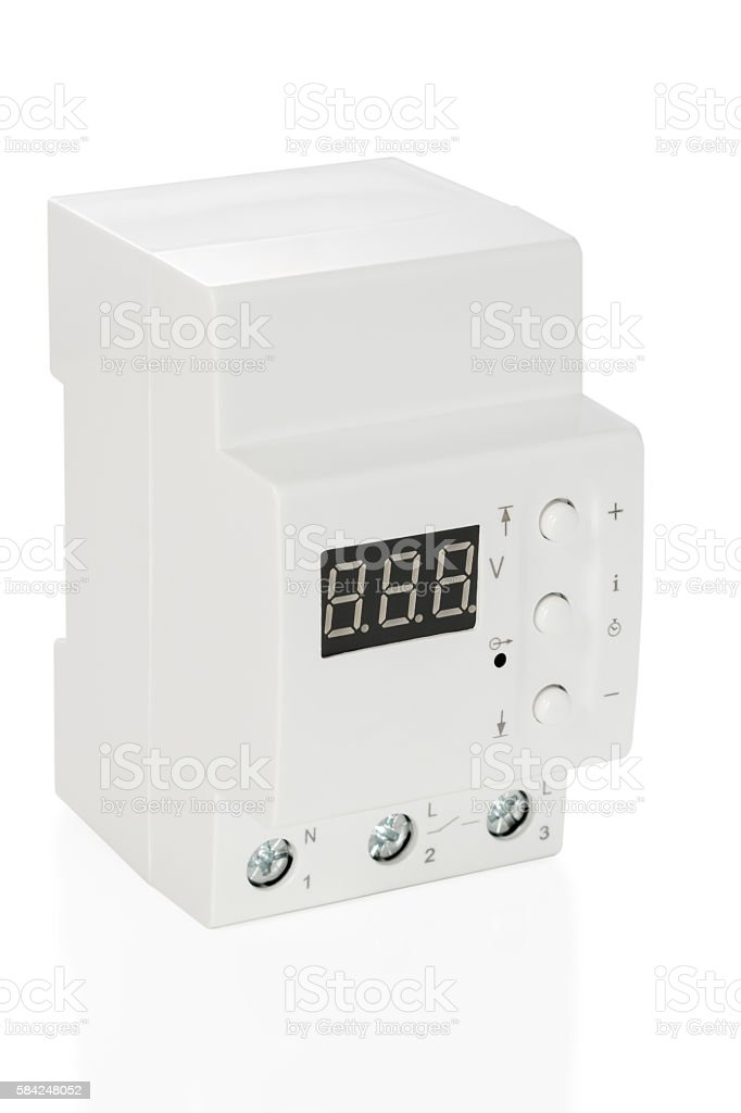 relay voltage isolated stock photo
