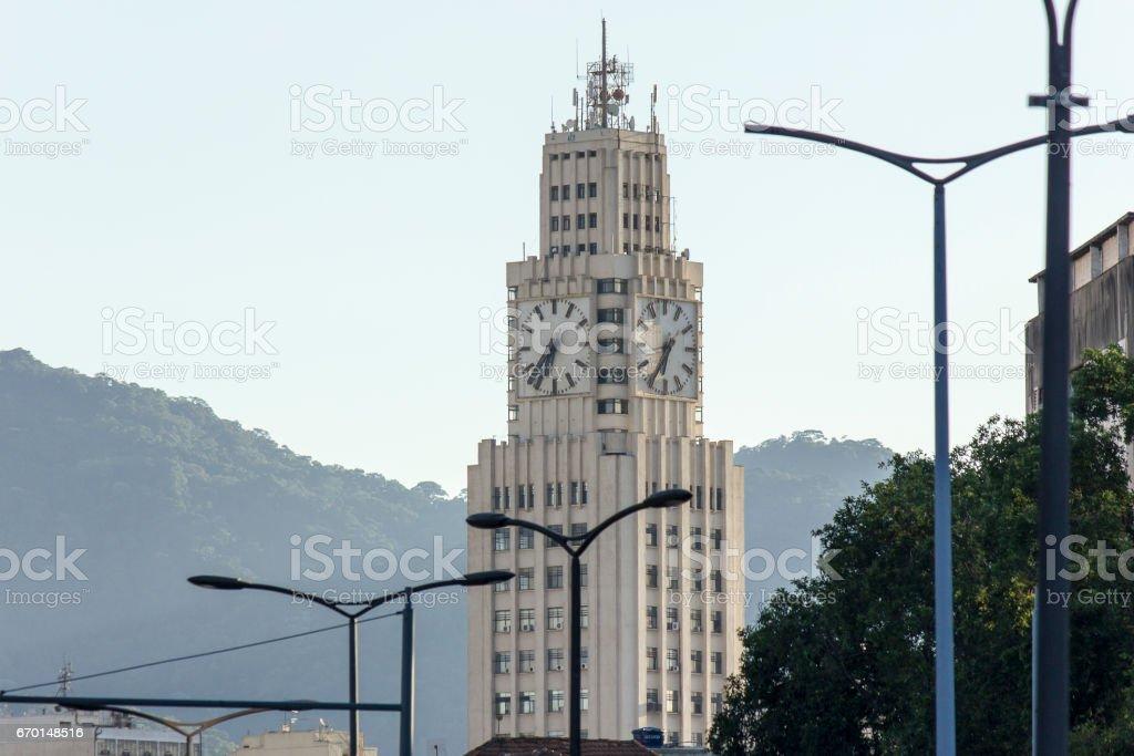 Relógio da Central stock photo