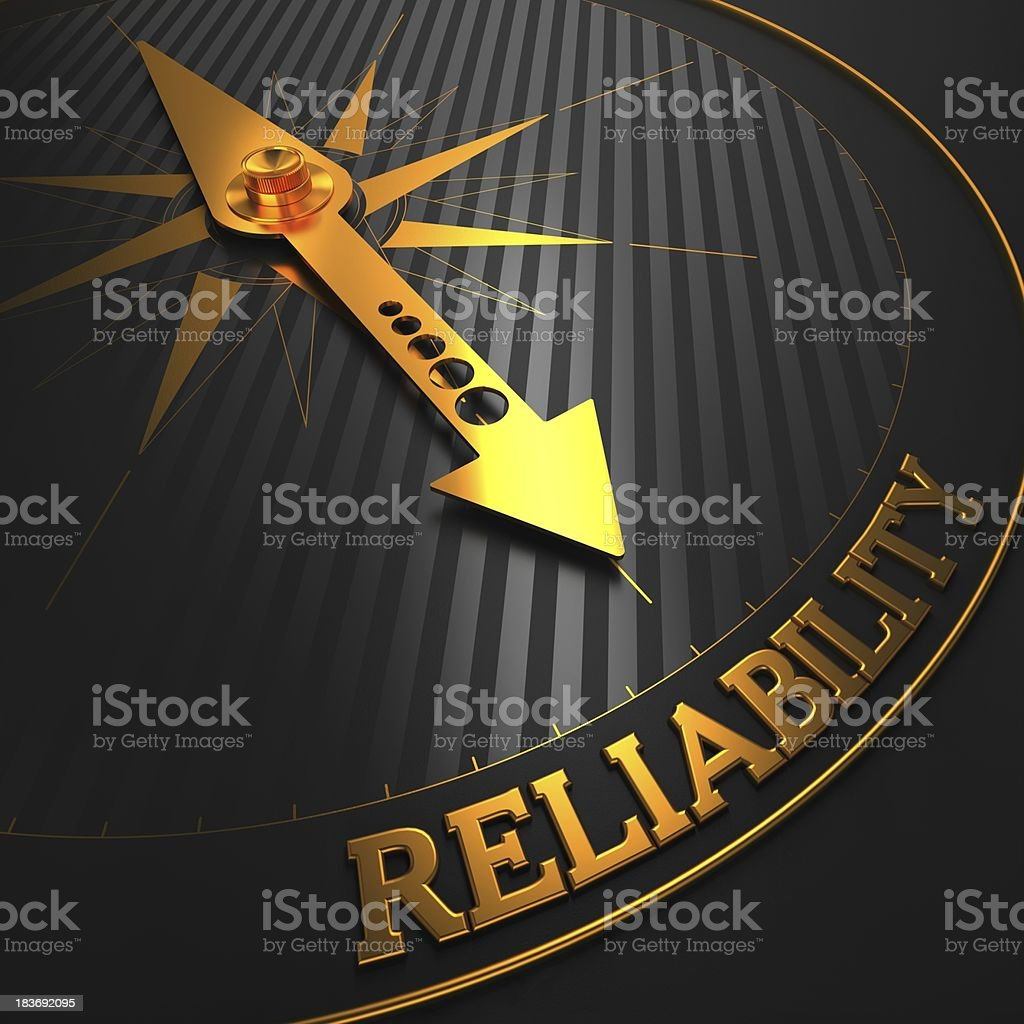 Reliability. Business Background. stock photo