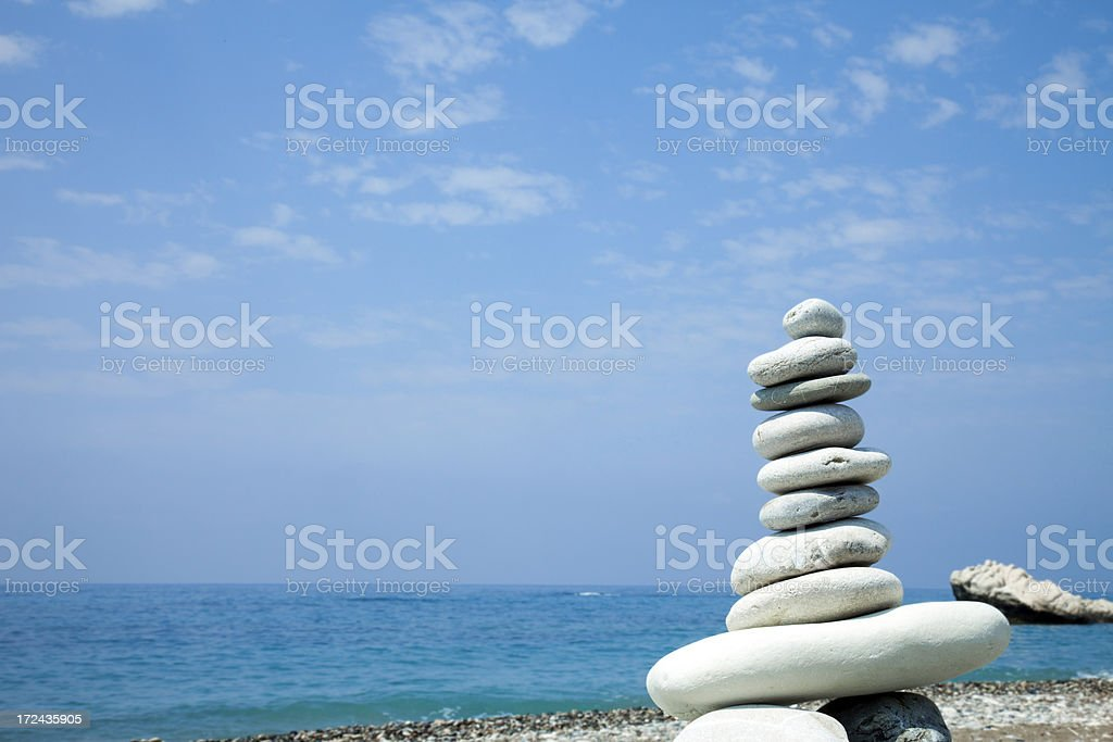Reliable balance. royalty-free stock photo