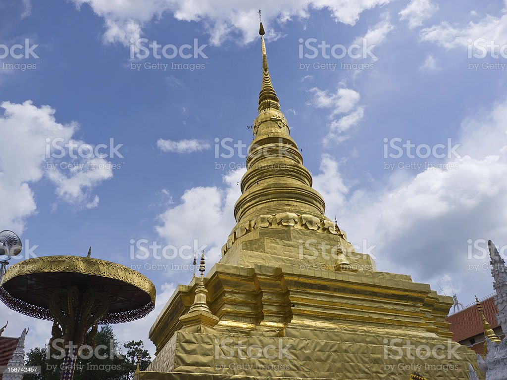 Relic of the Buddha royalty-free stock photo