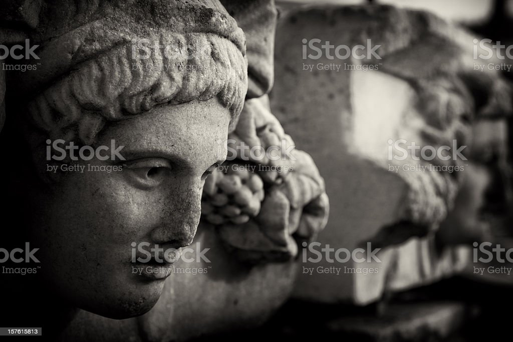 Relief of Aphrodisias stock photo