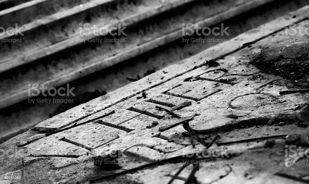 Relief royalty-free stock photo
