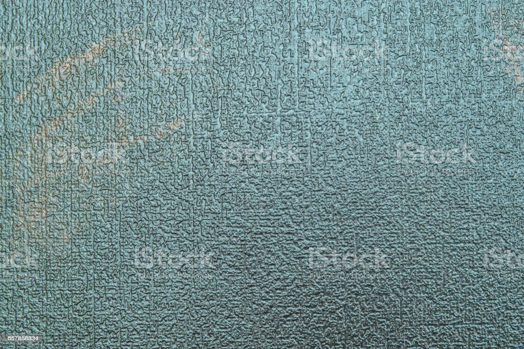 relief texture of dark turquoise color stock photo