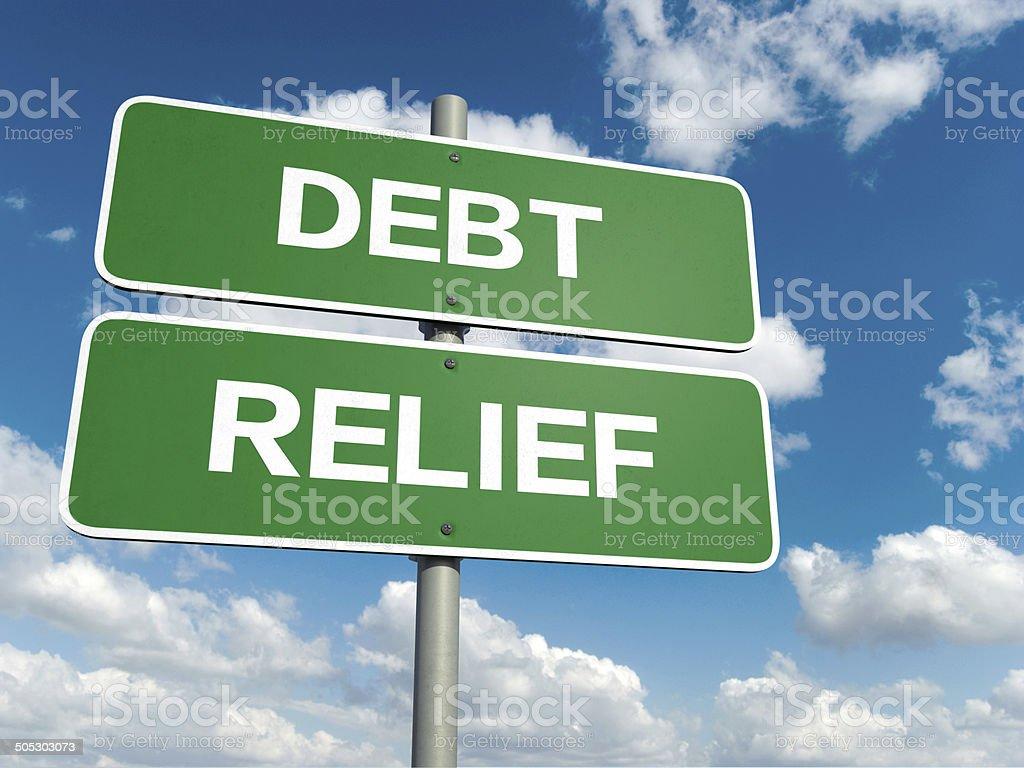 relief words stock photo