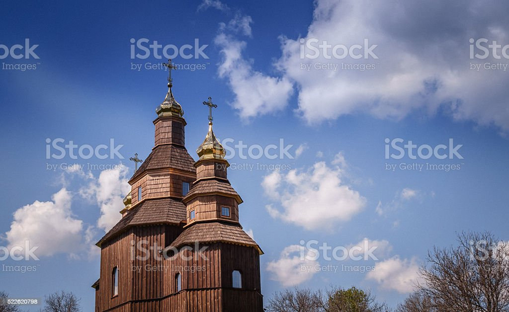 Religion and faith. Old Orthodox Church stock photo