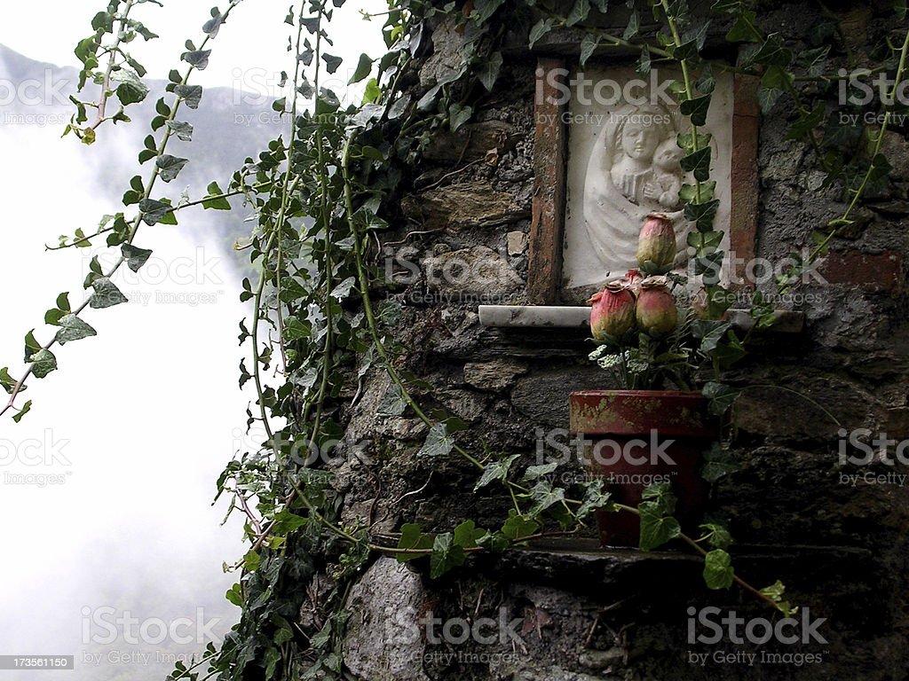 Religion & Fog royalty-free stock photo