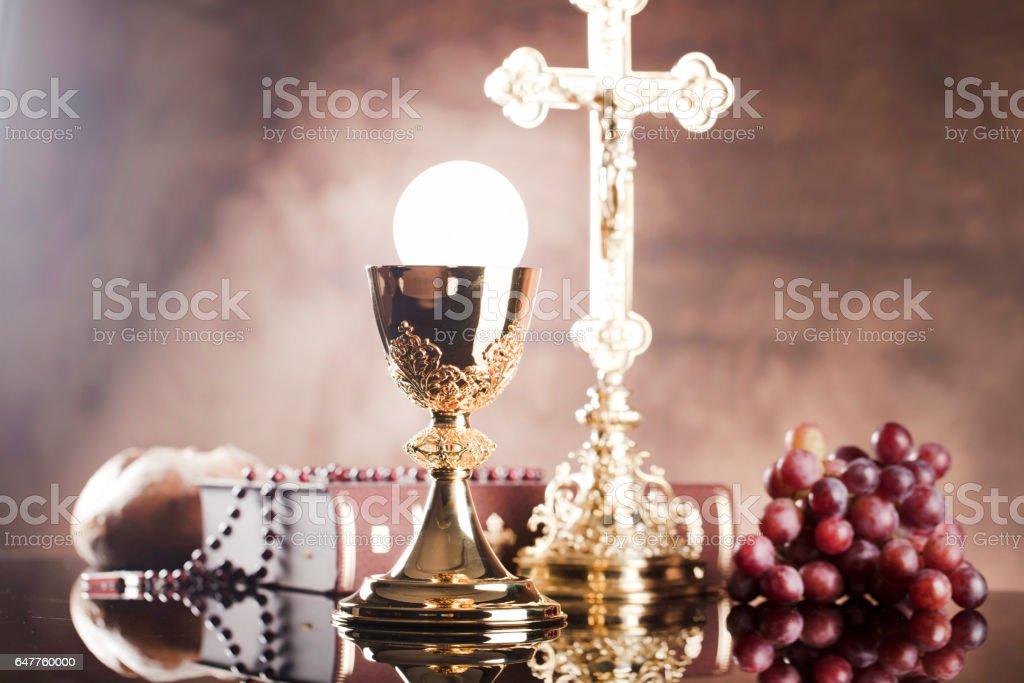 Catholic concept background