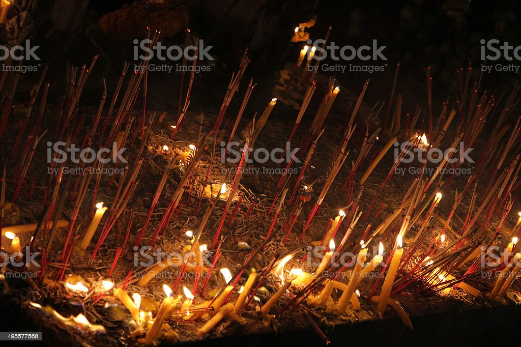 Religious beliefs in Thailand royalty-free stock photo