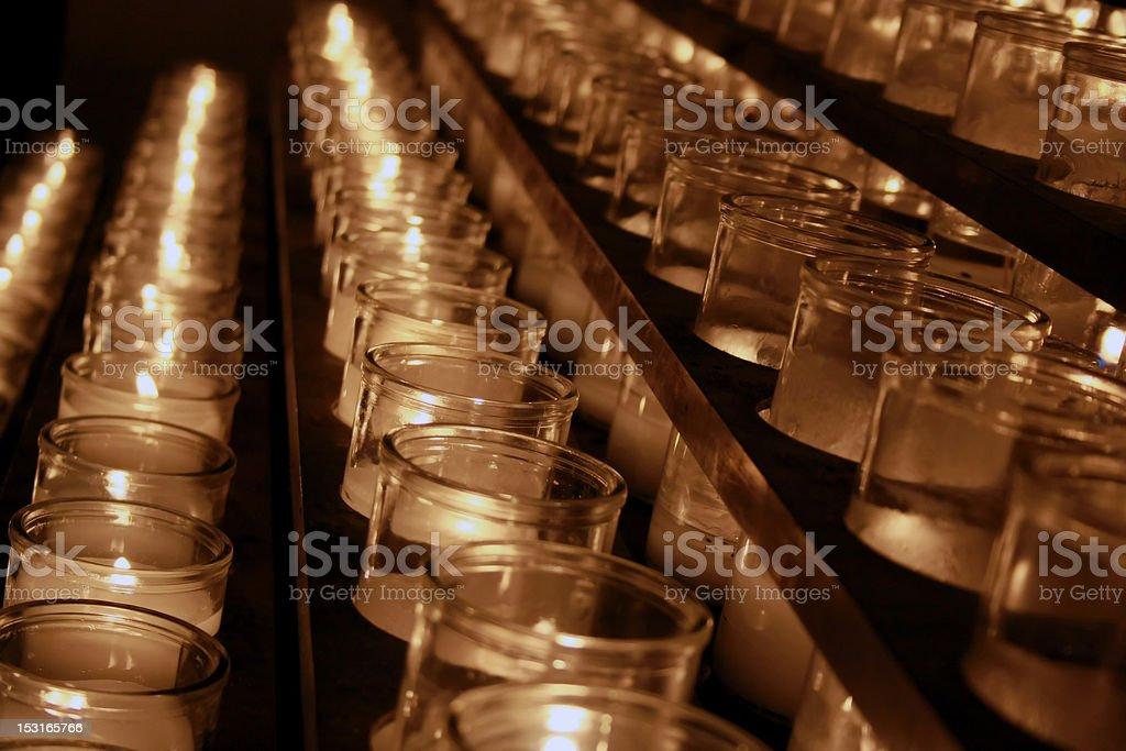 Religious Candles royalty-free stock photo