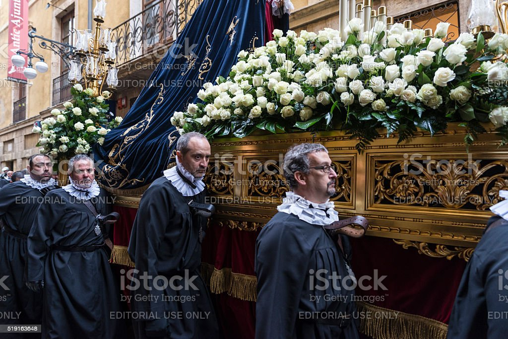 Religious celebrations of Easter Week, Spain stock photo