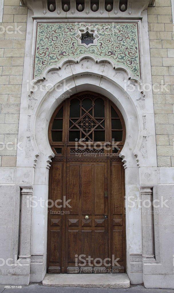Religious Door royalty-free stock photo