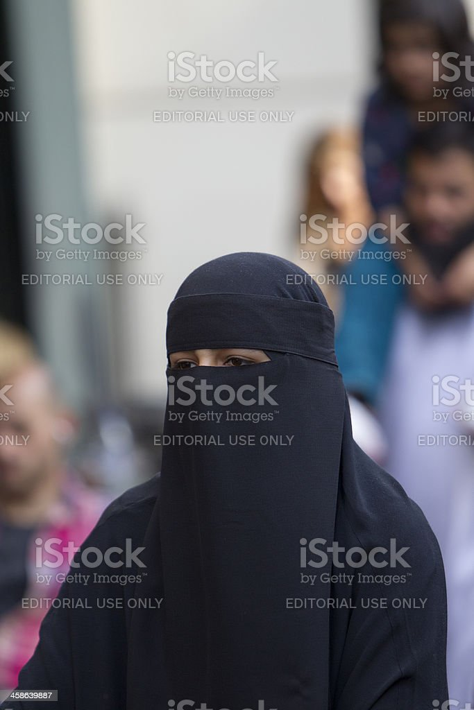 Religious dress stock photo