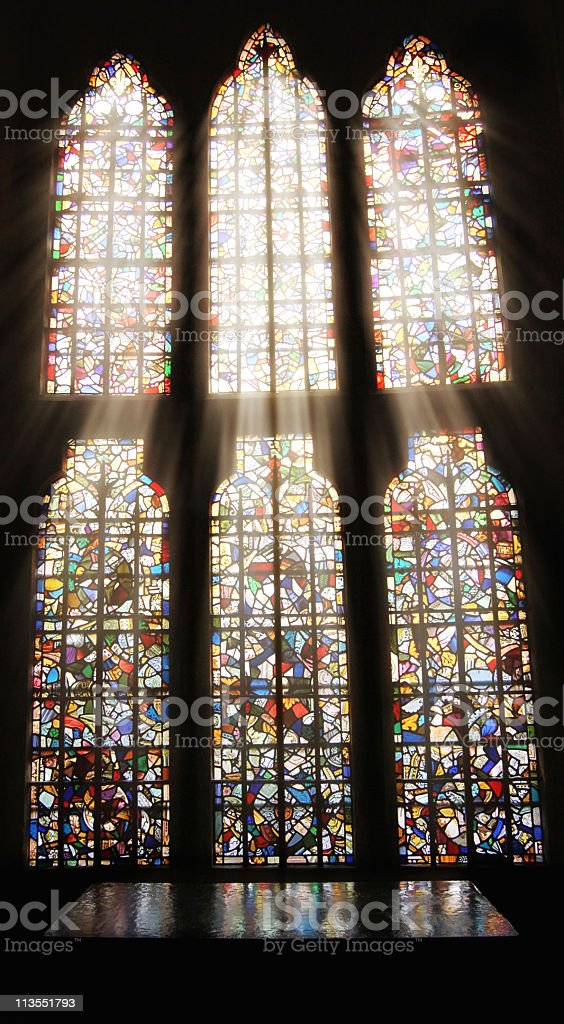 Religious enlightenment royalty-free stock photo