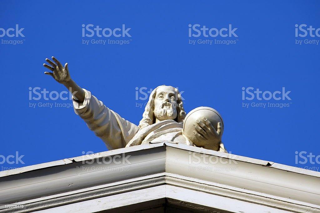 Religious Figure stock photo