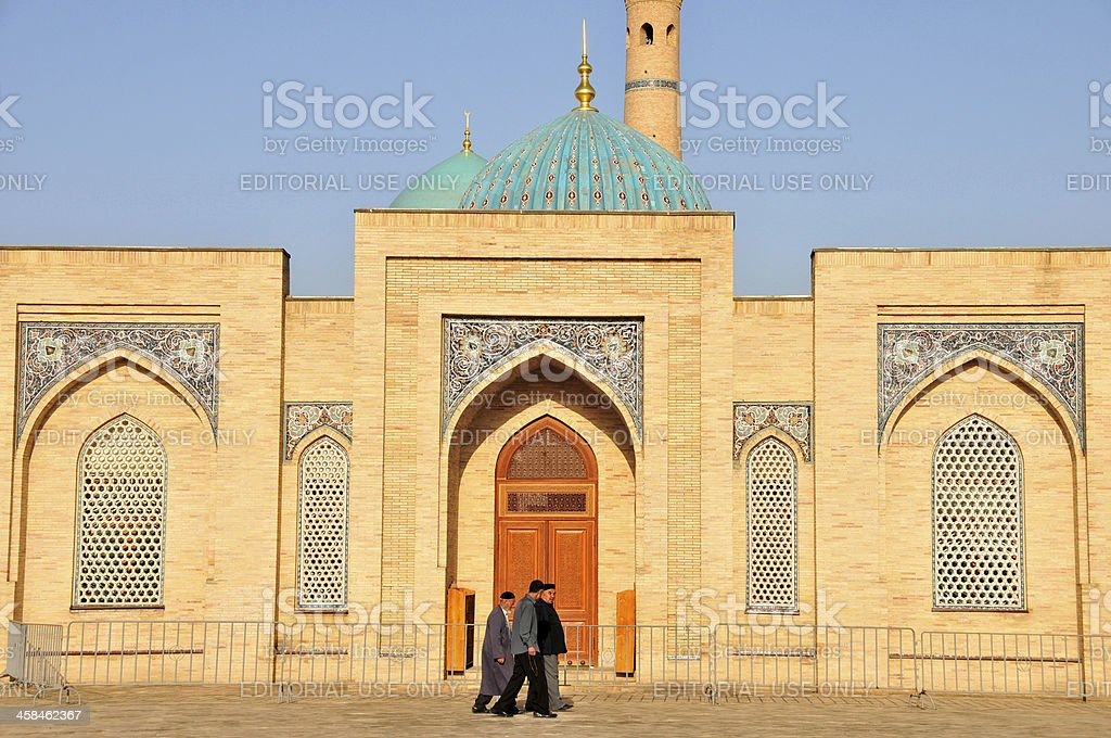 Religious Moslem Men stock photo