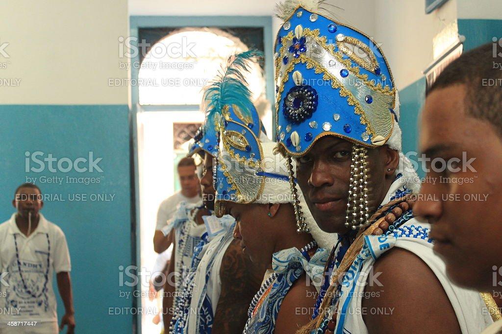 Religious Performers stock photo