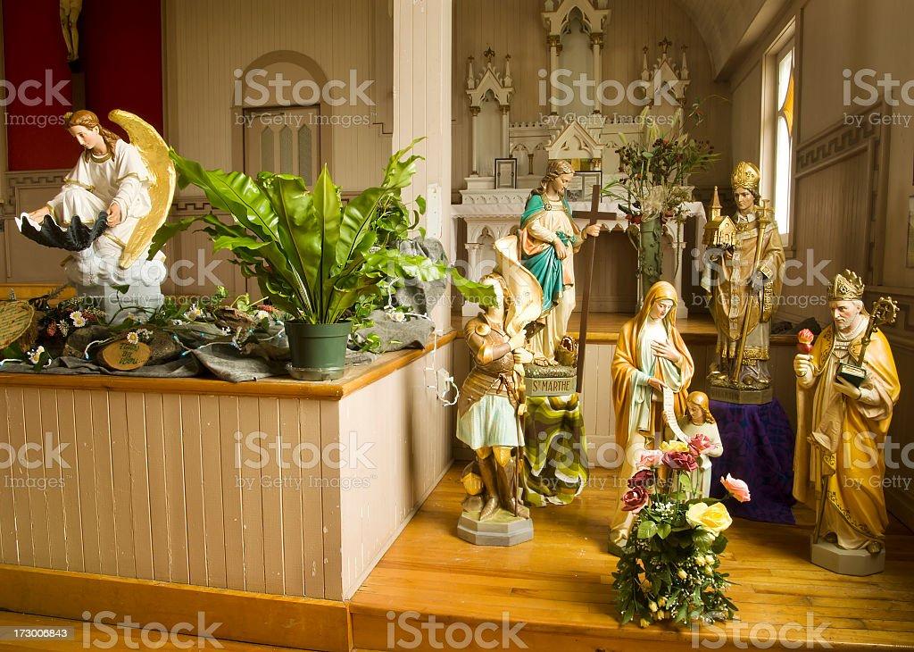 Religious Scene stock photo