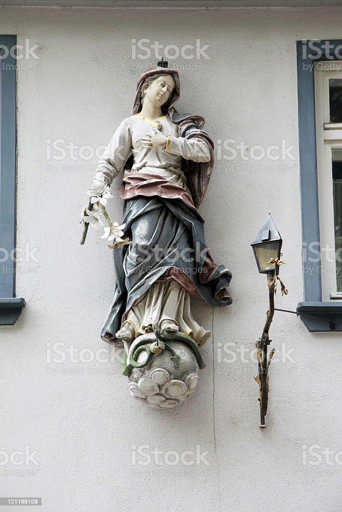 Religious statue royalty-free stock photo