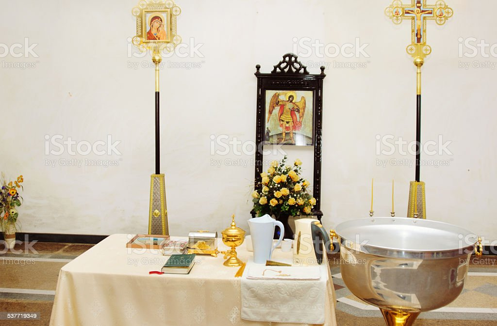 Religious subjects. Russia. stock photo