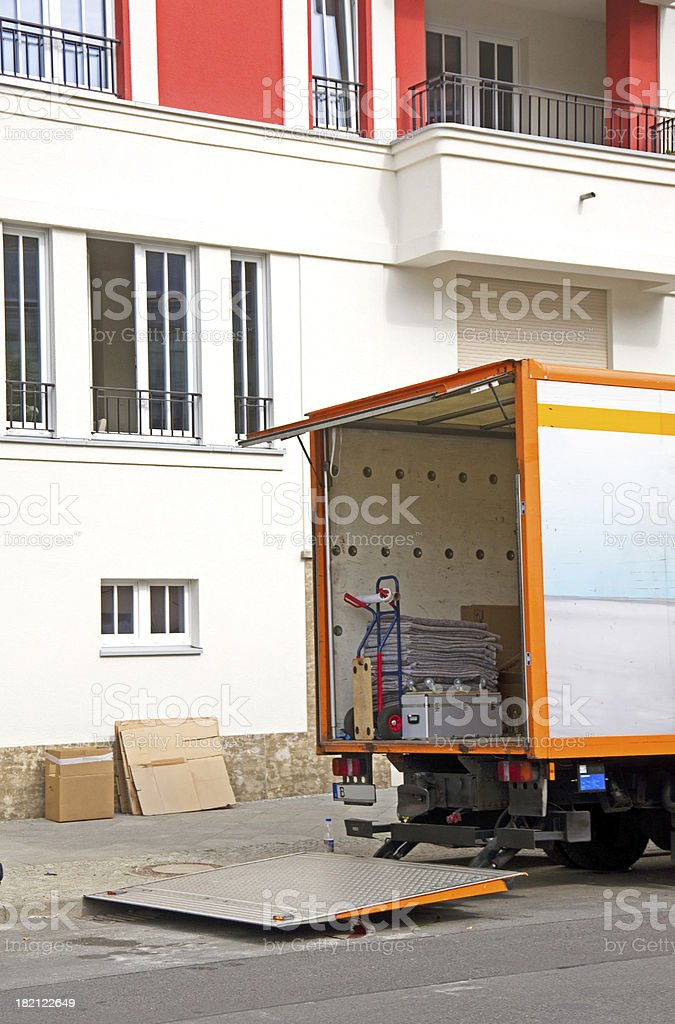 relocation royalty-free stock photo