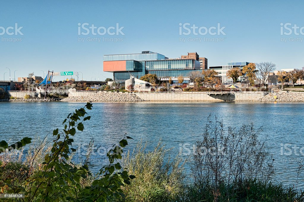 Remai Modern Art Gallery of Saskatchewan in Saskatoon stock photo