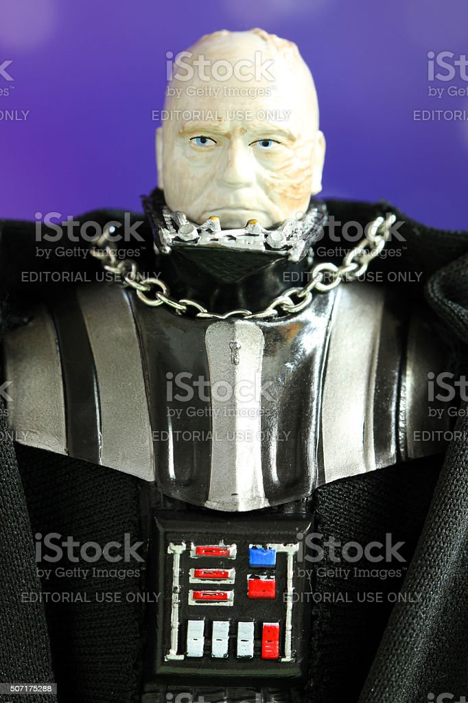 Remains of Anakin stock photo