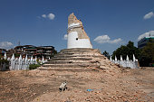 Remains of Dharahara tower in Kathmandu after the earthquake