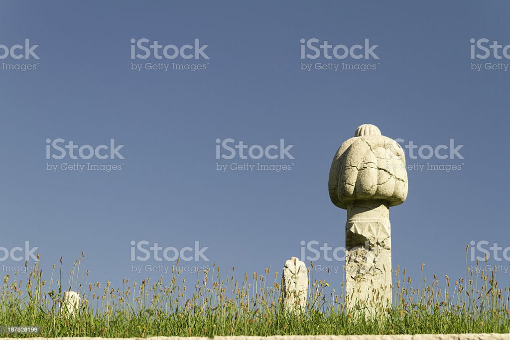 Remains of empire. royalty-free stock photo