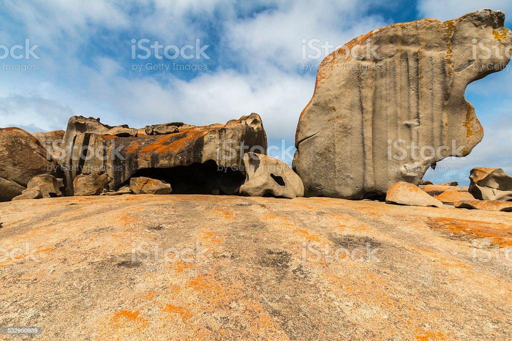 Remakable Rocks stock photo