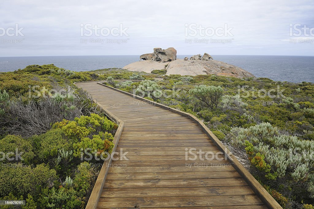 Remarkable Rocks, Kangaroo Island, Australia (XXXL) royalty-free stock photo