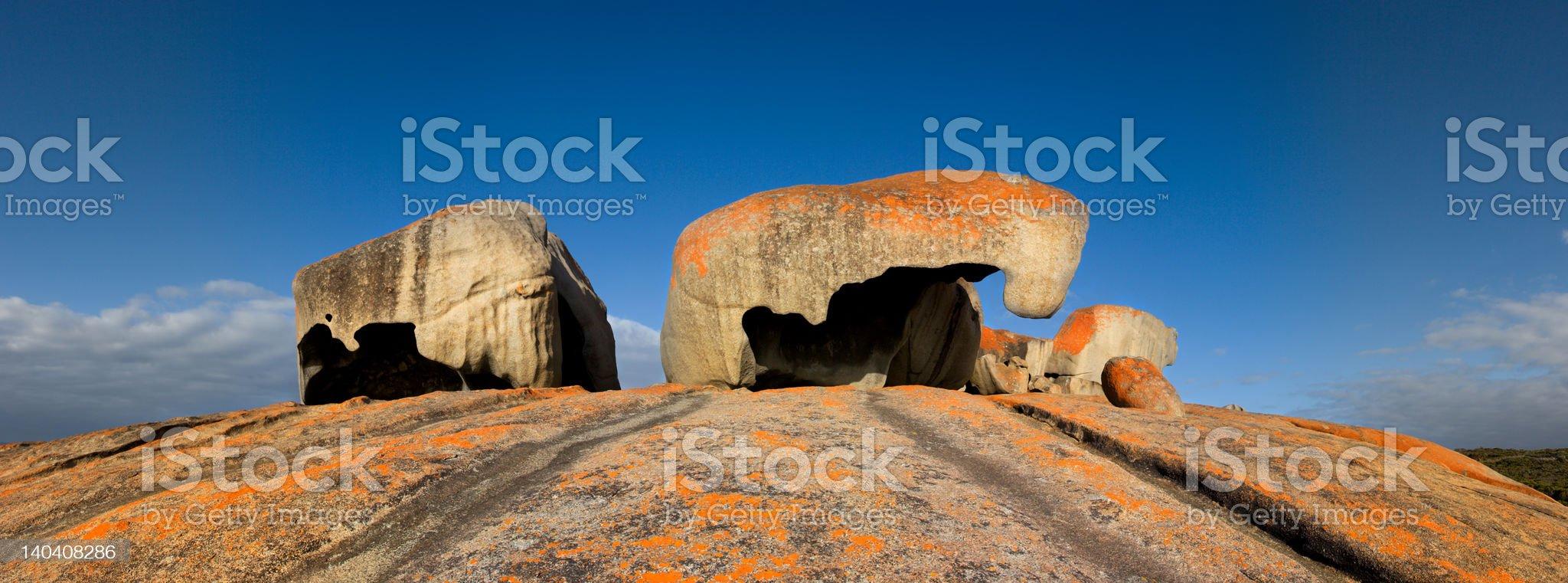 Remarkable Rocks, Kangaroo Island, SA, Australia royalty-free stock photo