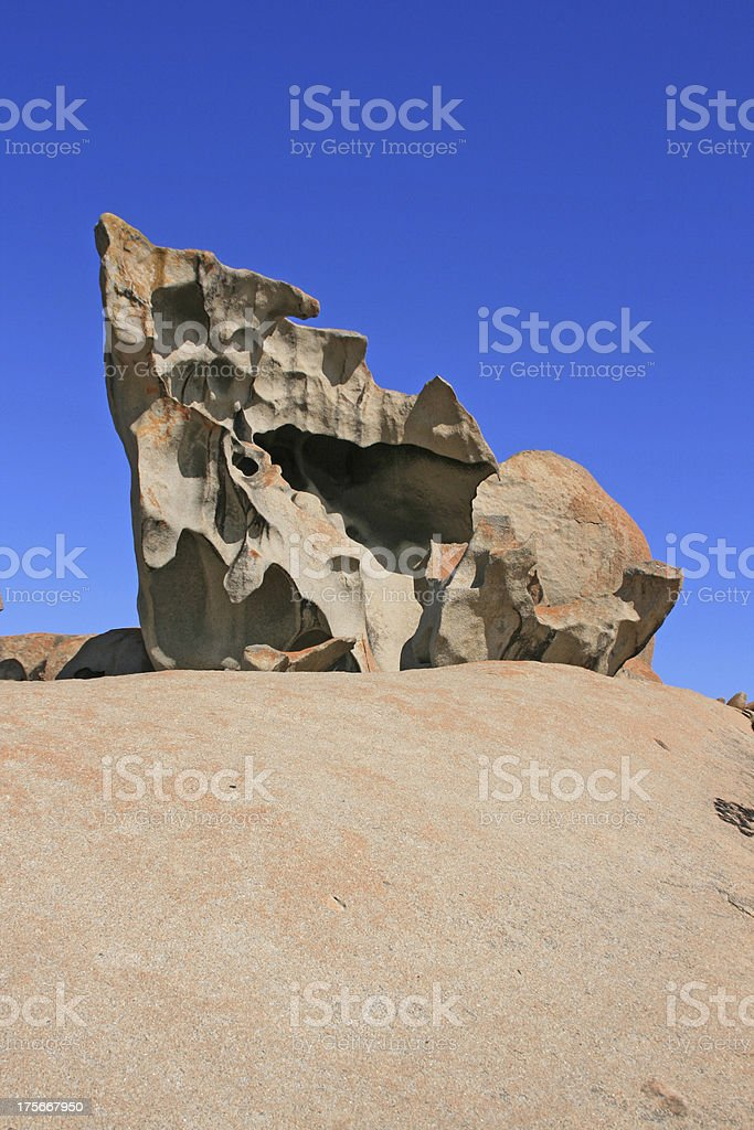 Remarkable Rocks, Kirkpatrick point, Kangaroo island, Australia royalty-free stock photo
