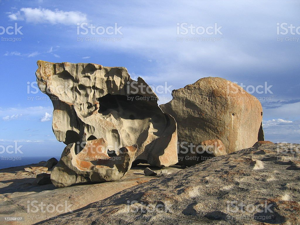 Remarkable Rocks royalty-free stock photo