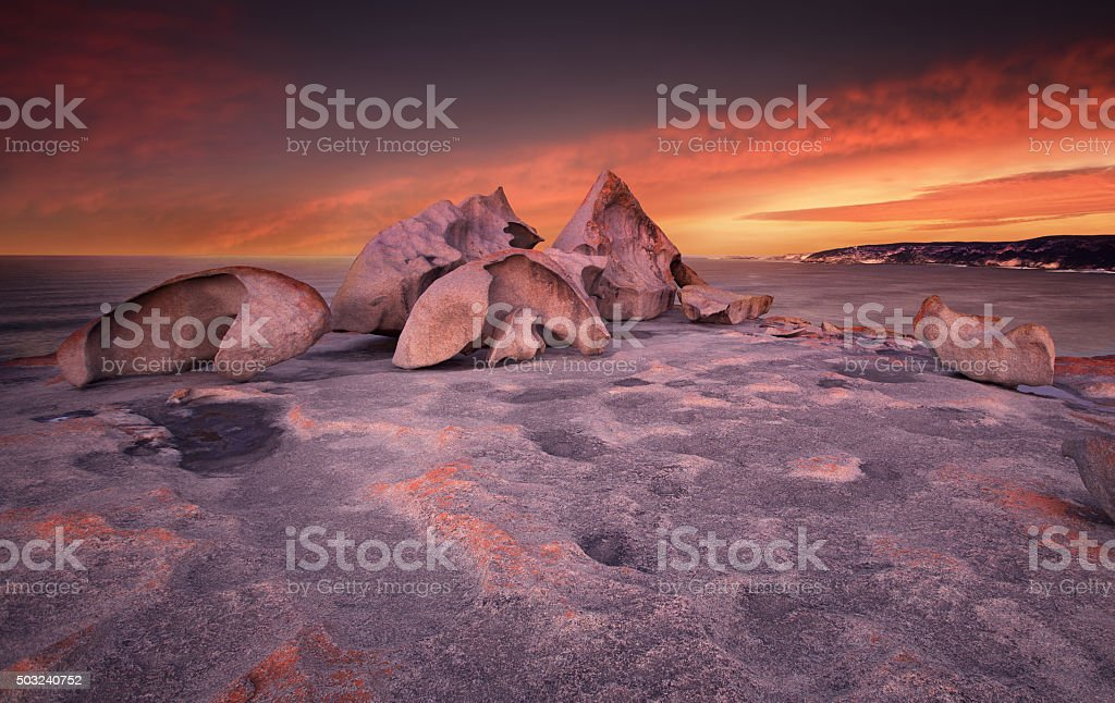 Remarkable Sunset stock photo