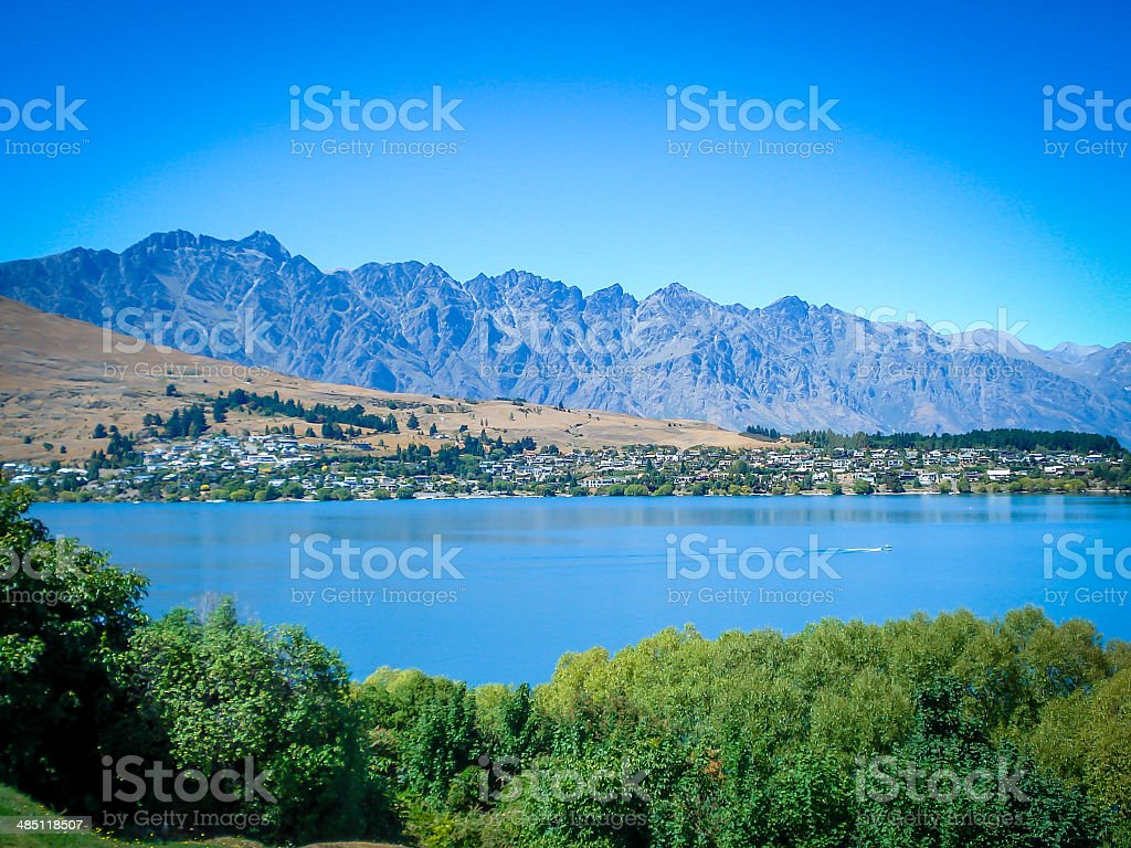 Remarkables stock photo