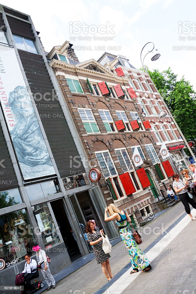 Rembrandt Museum stock photo