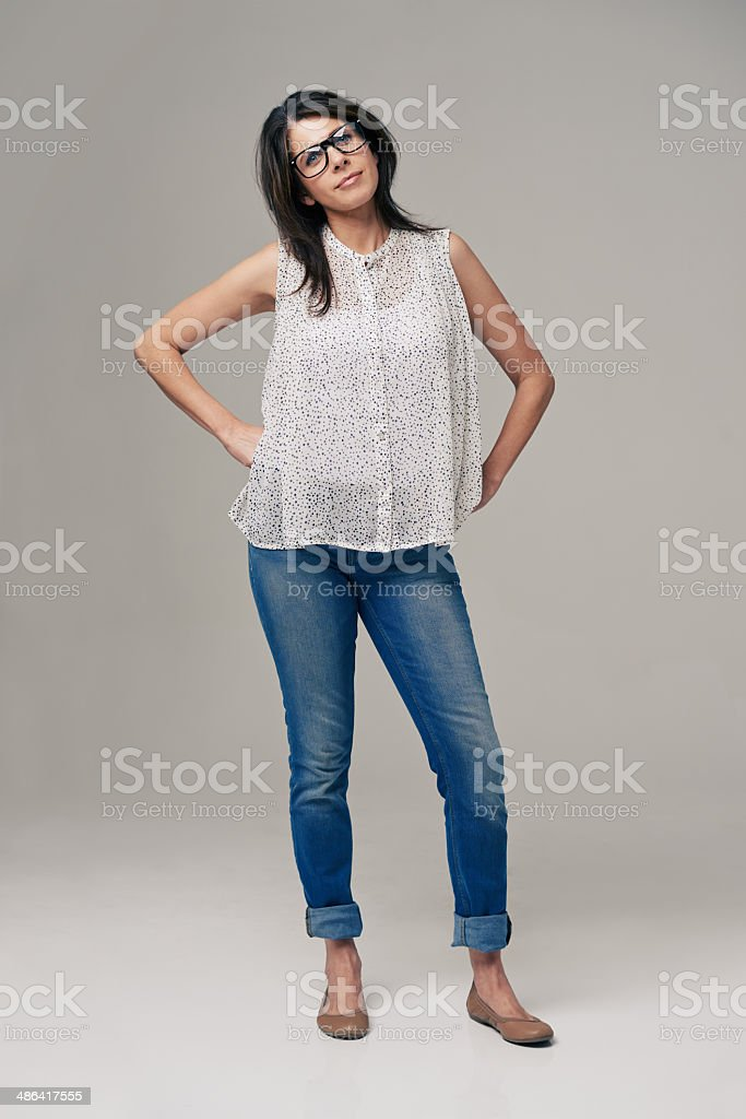 Remember, nerd is a compliment now stock photo