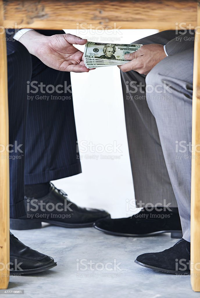 Remember: nobody needs to know about this stock photo