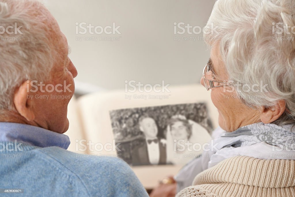 I remember the day so well... stock photo
