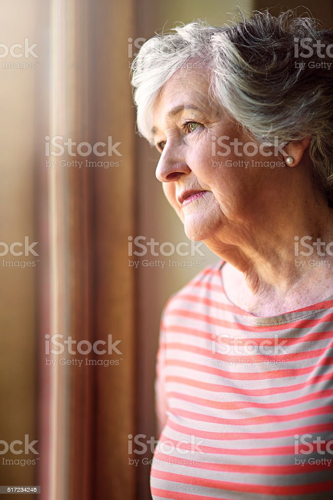 I remember the days... stock photo