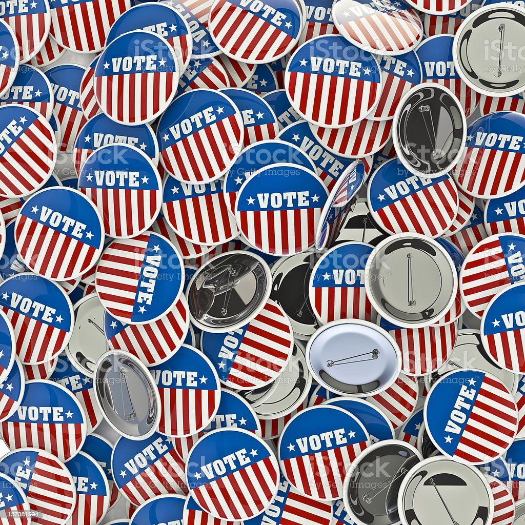 Remember to cast your vote royalty-free stock photo
