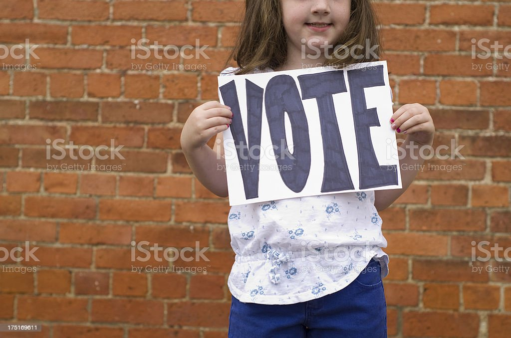 Remember to vote royalty-free stock photo