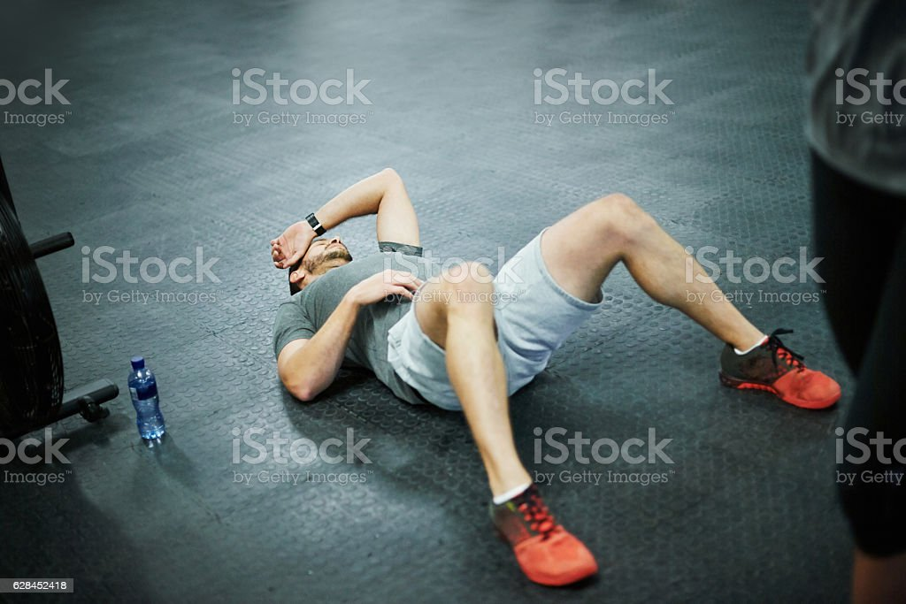 Remember you need time to recover as well... stock photo