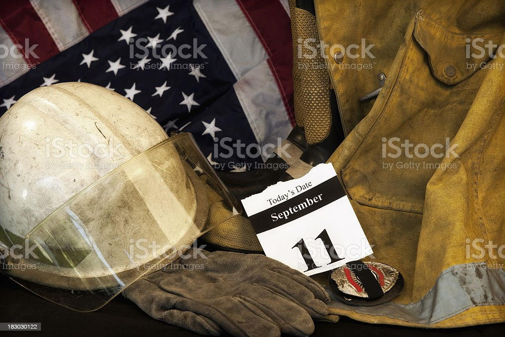 9-11 Remembered stock photo