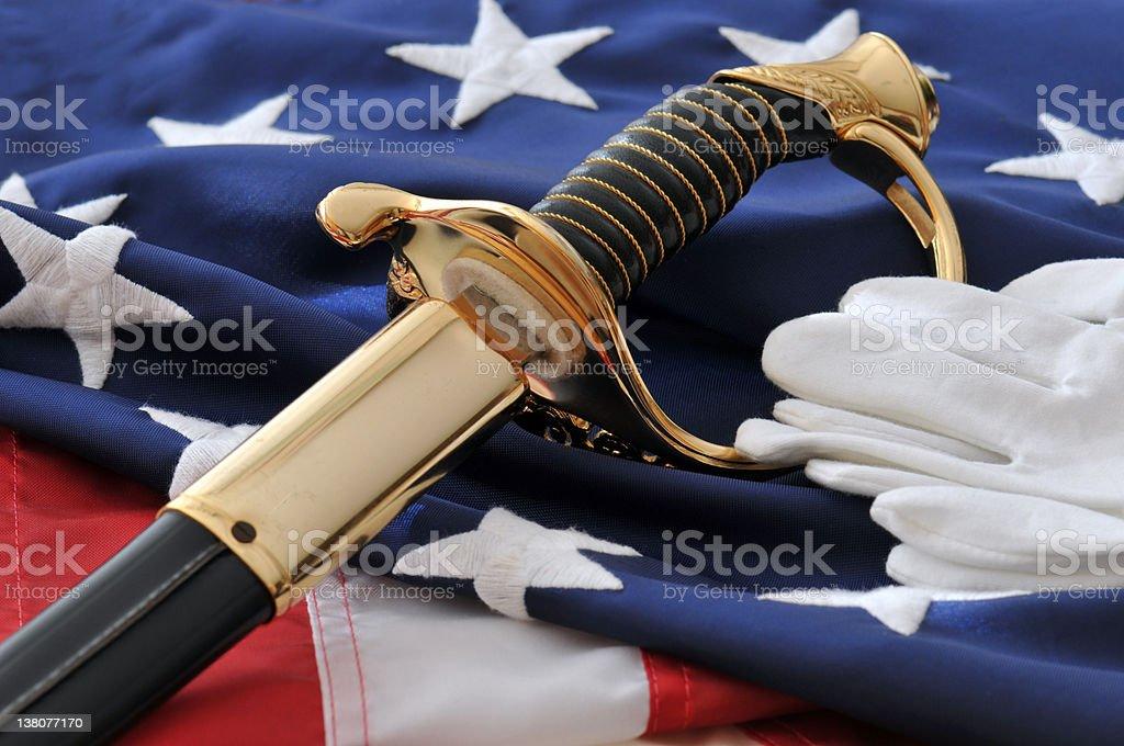 Remembering America's Marines stock photo