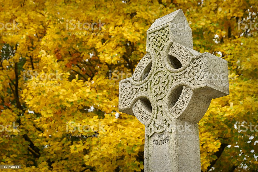Remembrance Day Cenotaph stock photo