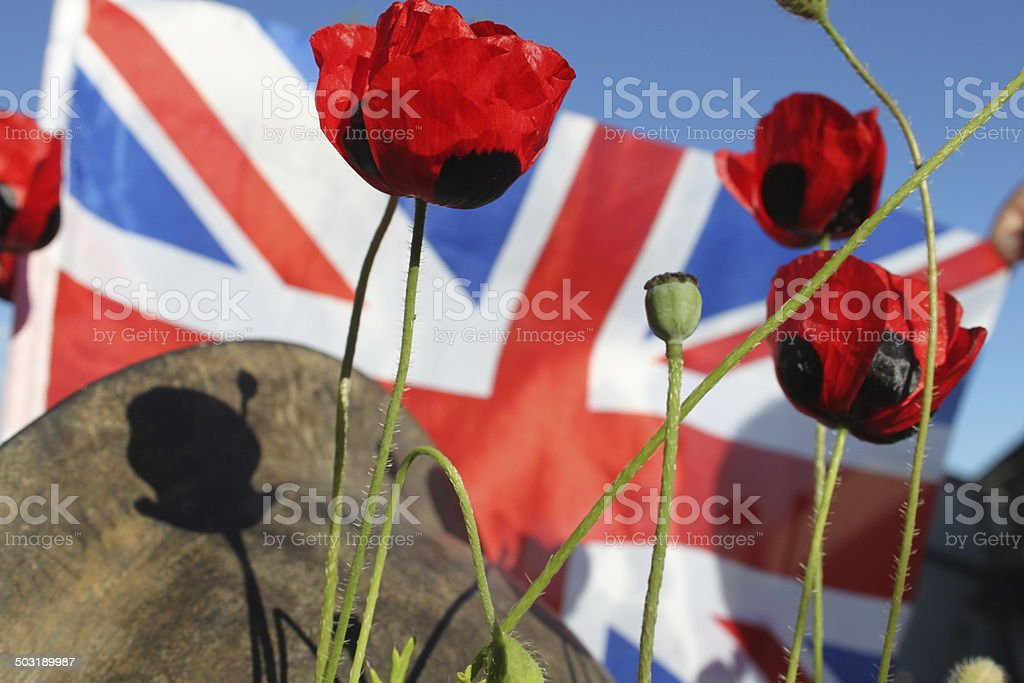WW1 Remembrance Day. stock photo