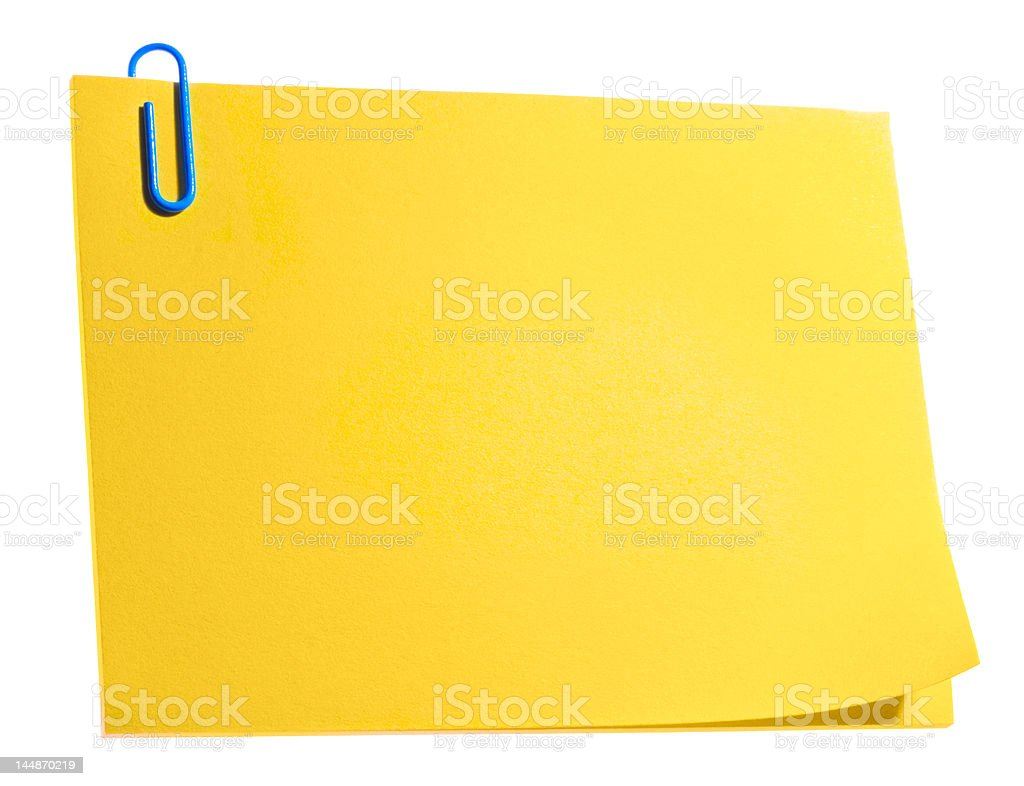 Reminder concept, isolated sticker royalty-free stock photo