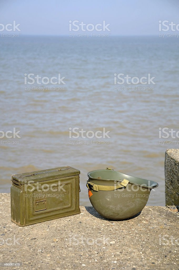 Reminders Of The D-Day Landings royalty-free stock photo